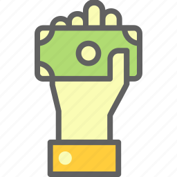business, economy, finance, get, money icon