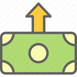 business, economy, finance, transfer icon