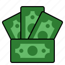 cash, dollar, finance, money, profit icon