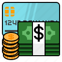 money, payment, payment method, profit, rich, wealth icon