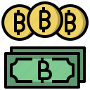 baht, coin, currency, economy, exchange, money icon