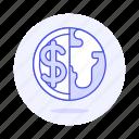 coin, currencies, dollar, finance, money, world