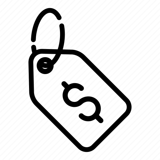 cash, coupon, dollar, finance, money, price, tag icon