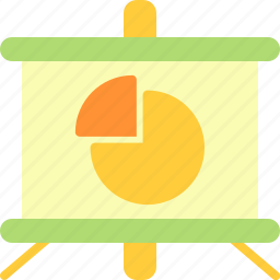business, chart, economy, finance icon