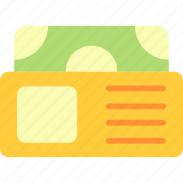 business, economy, finance, wallet icon
