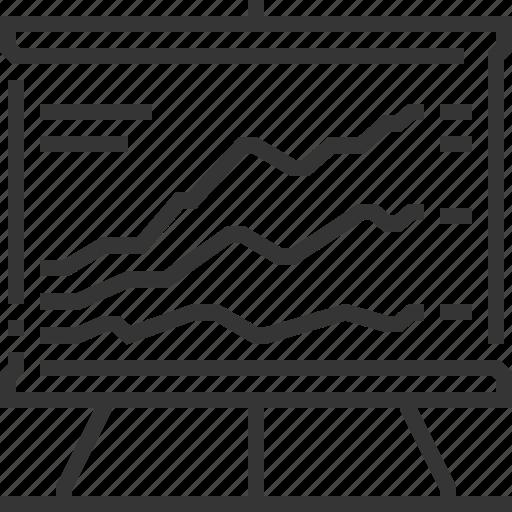 analytics, business, graphics, pie chart, presentation, report, statistics icon