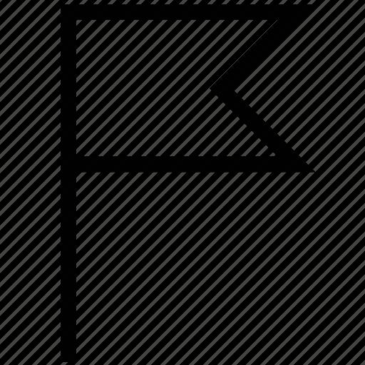 ensign, flag, location, pin flag icon