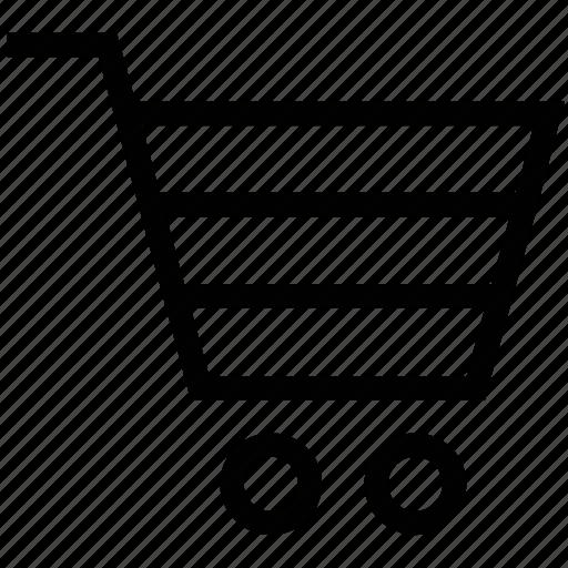 basket, cart, ecommerce, shopping, trolley icon