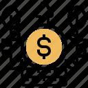 benefit, gain, interest, money, profit