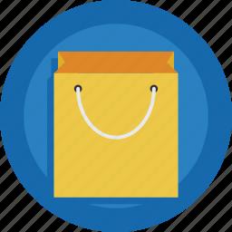 bag, empty, shopping bag icon