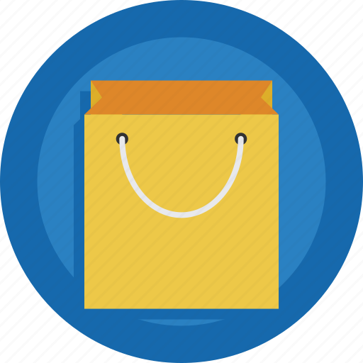 Bag, shopping bag, empty icon - Download on Iconfinder