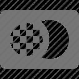 credit card, master card icon