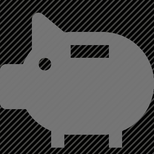 bank, piggy bank icon