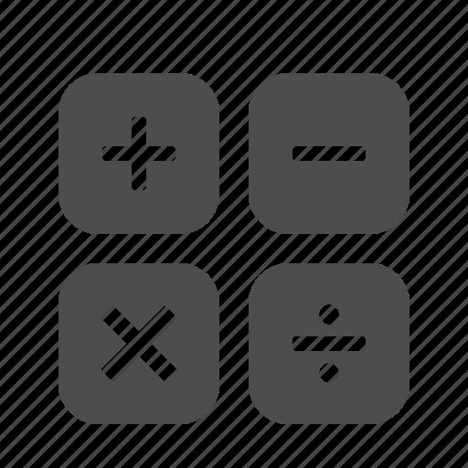 banking, business, calculator, finance, math icon