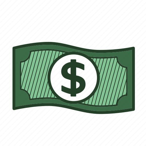 cash, dollar, finance, money, payment icon