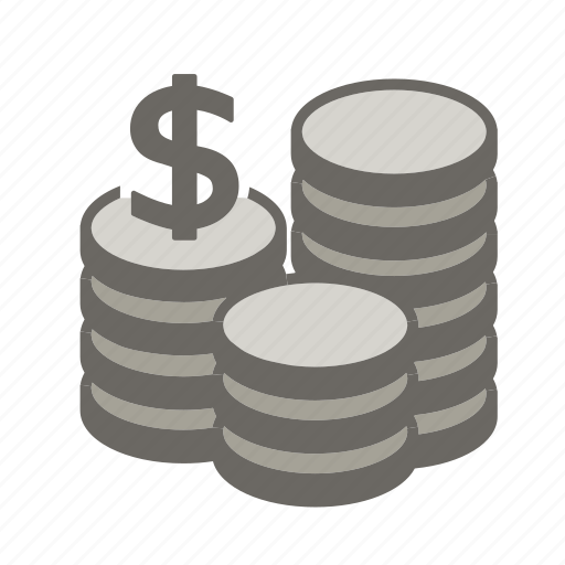 cash, coin, coins, currency, financial, money, payment icon