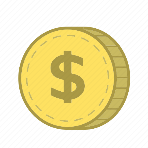 cash, coin, currency, dollar, finance, financial, money icon
