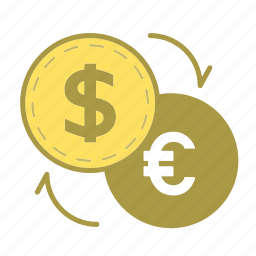 coin, currency, dollar, exchange, finance, financial, money icon