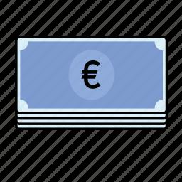 euro, notes icon