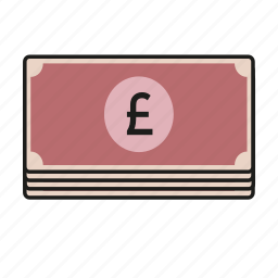 notes, pound icon