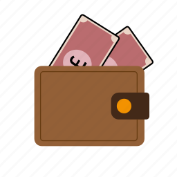 pound, wallet icon