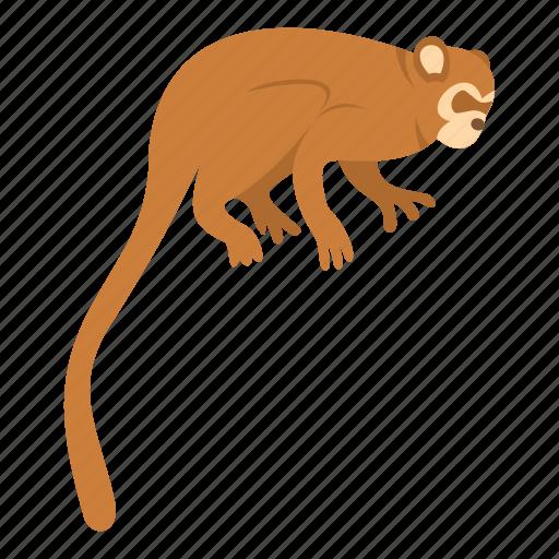animal, brown, mammal, monkey, nature, primate, wildlife icon