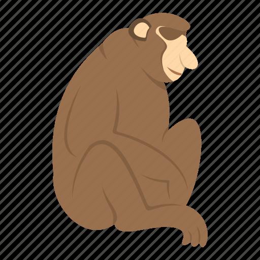 Animal, mammal, monkey, nature, orangutan, primate, wildlife icon - Download on Iconfinder