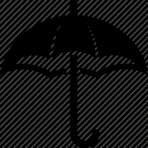 coverage, insurance, protection, rain, umbrella icon