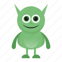 avatar, beast, cartoon, creature, funny, halloween, monster, spooky icon