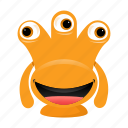 alien, avatar, beast, cartoon, funny, halloween, monster, spooky icon