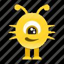 avatar, cartoon, funny, halloween, monster, spooky icon