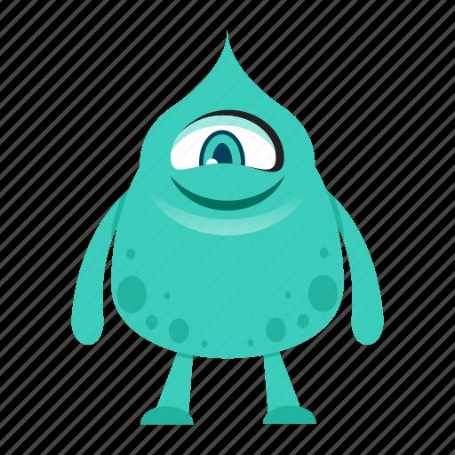 alien, avatar, cartoon, funny, halloween, monster, spooky icon