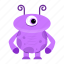 alien, avatar, cartoon, creature, funny, halloween, monster, spooky icon