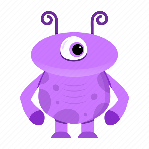 alien, avatar, cartoon, creature, funny, halloween, monster, spooky icon