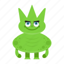 avatar, beast, cartoon, funny, halloween, monster, spooky icon