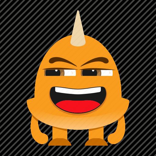 beast, cartoon, comic, creature, devil, halloween, monster, spooky icon
