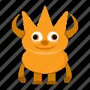 avatar, cartoon, devil, halloween, monster, spooky icon