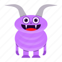 avatar, creature, devil, funny, halloween, monster, spooky icon