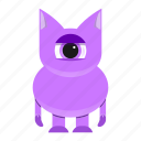 avatar, beast, creature, cute, halloween, monster icon
