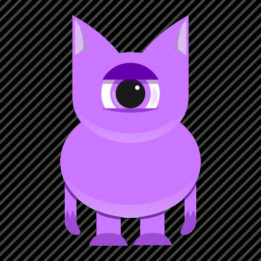 avatar, beast, creature, cute, halloween, monster icon