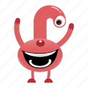 alien, avatar, beast, cartoon, creature, halloween, monster, smile icon