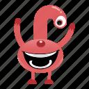 alien, avatar, beast, cartoon, creature, halloween, monster, smile icon