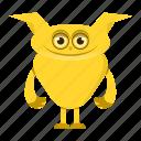 avatar, beast, cartoon, cute, halloween, monster, smile