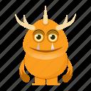 alien, avatar, beast, cartoon, creature, devil, halloween, monster icon