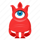 avatar, beast, cartoon, creature, cute, devil, halloween, monster icon