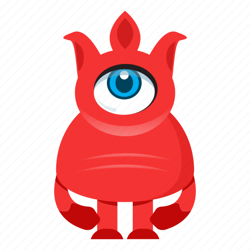 avatar, beast, cartoon, creature, cute, devil, halloween, monster icon