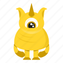 avatar, beast, cartoon, creature, halloween, monster icon