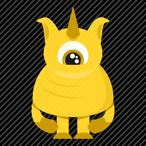 avatar, beast, cartoon, creature, halloween, monster icon