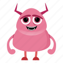 alien, avatar, beast, cartoon, cute, devil, halloween, monster icon