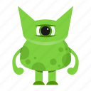 alien, avatar, beast, cartoon, creature, halloween, monster icon